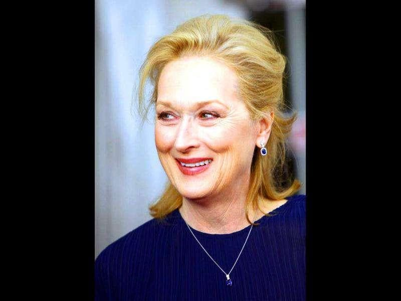 Streep's titular character The Iron Lady is based on the UK's former Prime Minister Margaret Thatcher. (Reuters)