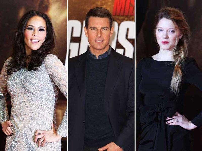 Tom Cruise and his Mission Impossible team walked the red carpet at the UK premiere of Mission Impossible: Ghost Protocol at BFI Imax cinema in central London. Here's a look at the pics.
