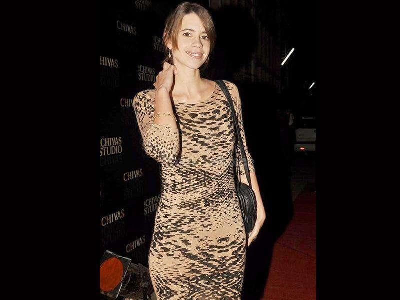 Kalki looked chic at a Chivas Studio event.