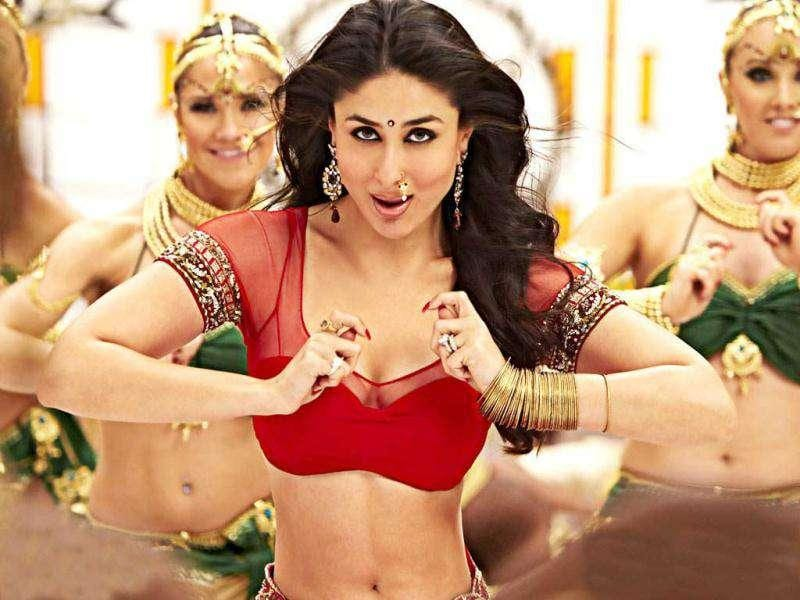 This one wins hands down! Kareena Kapoor's Chammak Challo scored on every count.