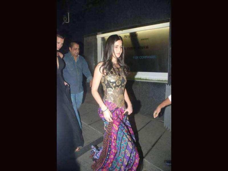 Katrina Kaif's unusual outfit at Sohail Khan's son Nirvaan's birthday bash recently came as a surprise. The gorgeous actor usually gets her styling right. What's your take?