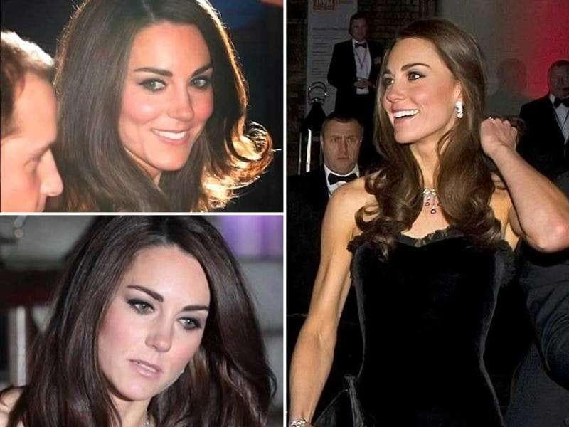 The Duchess of Cambridge turned eye balls with her daring outfit at the military awards recently. The beauty wore a black strapless velvet gown which fits her at the right places. Check her out!