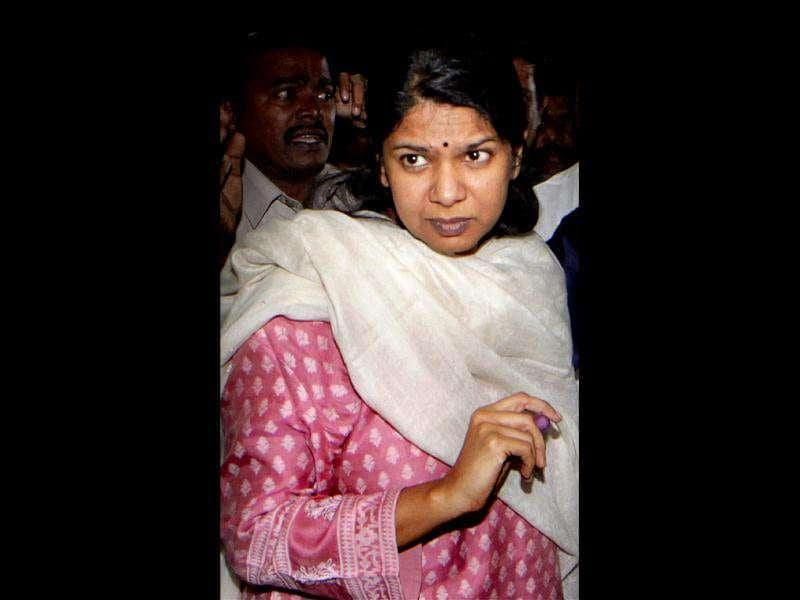 The Rajya Sabha MP and daughter of former Tamil Nadu chief minister M Karunanidhi Kanimozhi was arrested on May 20 for alleged involvement in the 2G spectrum scam and is now out on bail.