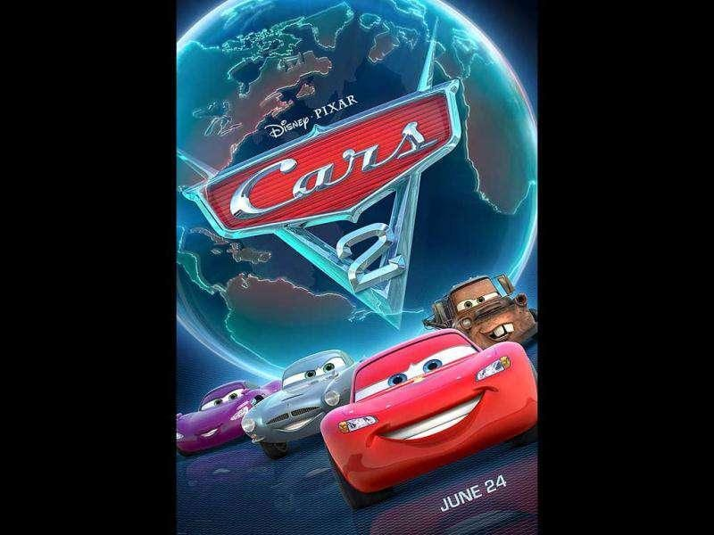 Cars 2: Worldwide box office: $551.7 millionThis computer-generated animated Pixar sequel, featuring Owen Wilson and Michael Caine's voices, brings race car Lightning McQueen to the World Grand Prix races around the world as he gets caught up with international espionage.