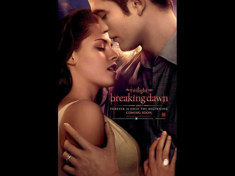 The Twilight Saga: Breaking Dawn, Part 1: Worldwide box office: $647.3 millionThe penultimate release of the blockbuster vampire romance franchise starring Robert Pattinson, Kristen Stewart and Taylor Lautner closes in on next year's finale, with a wedding and child creating a major battle.