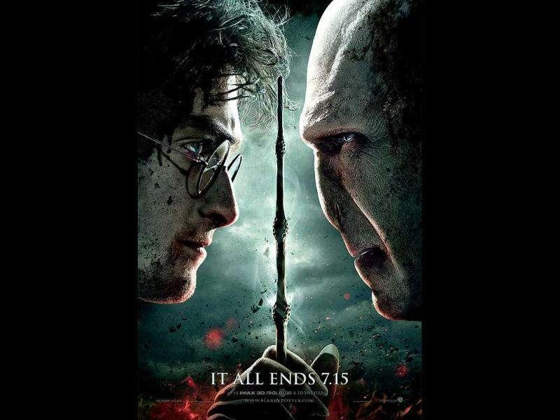 Harry Potter and the Deathly Hallows: Worldwide box office: $1.3 billionThe finale to the most successful franchise in film history concludes J.K. Rowling's final book in the series about the boy wizard played by Daniel Radcliffe.
