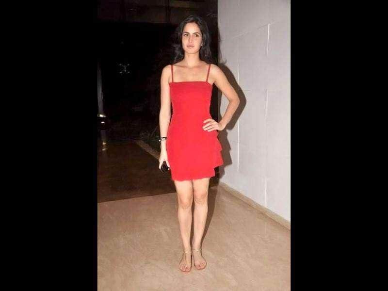 Katrina Kaif looked absolutely dazzling in a devilish red dress.