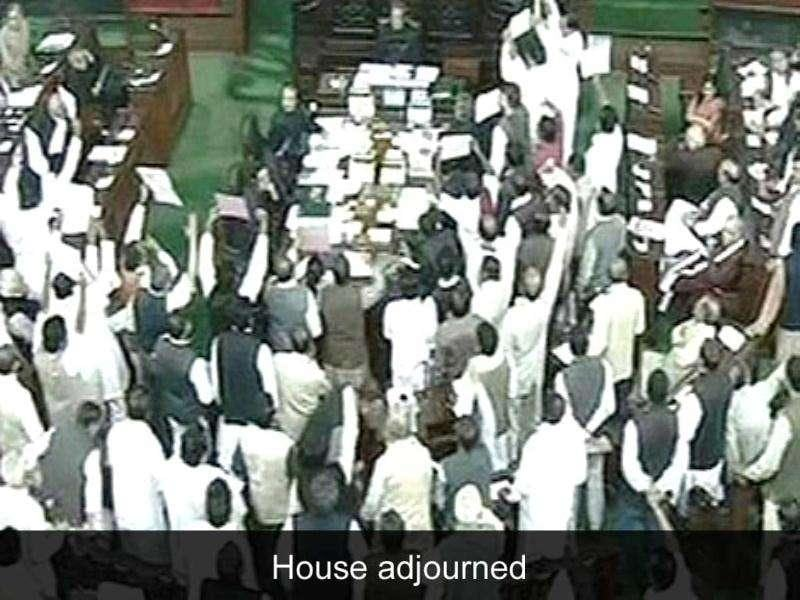 Houses adjourned: India's boom gave way to gloom as the winter session of Parliament saw very little being done with Rajya Sabha and Lok Sabha being adjourned for most of the days due to clamour over various issues like FDI in retail, 2G case, illegal mining and Telangana.