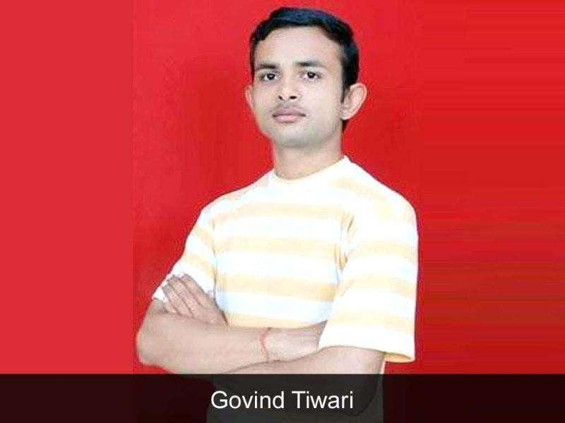 Govind Tiwari: Trending, tacky and tech savvy! The 'experimental' design of the Allahabad boy's site, govindtiwari.blogspot.com, with a kitschy mix of YouTube videos, friendship requests and Hindi numbers that play to a series of still photos of Tiwari himself, got 60,000 hits and made Tiwari a mini-celeb.