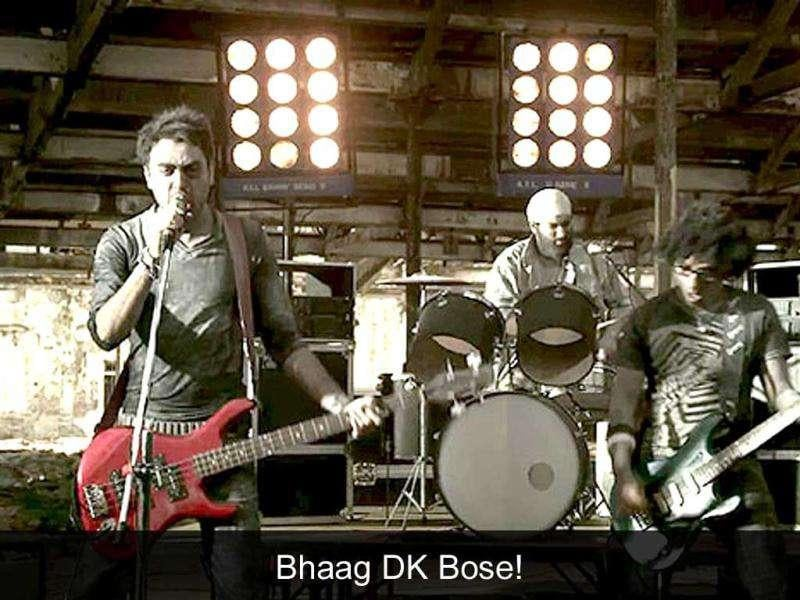 Bhaag DK Bose: The song from Delhi Belly which smartly turns a Bengali name into a Hindi expletive, became a youth anthem.