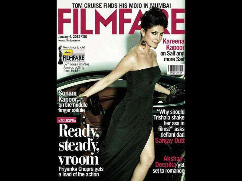 Priyanka Chopra is the latest diva to spice up the cover of Filmfare magazine. As the Don girl looks phenomenally glamourous, check out other B-Town hotties who made it to the covers of leading magazines.