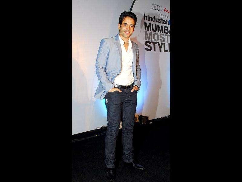 Actor Tusshar Kapoor also spotted among the most stylish. (Photo: Prodip Guha)