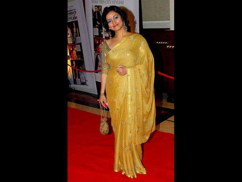 Old is gold: Divya Dutta donned the ethnic look this time. (Photo: Prodip Guha)