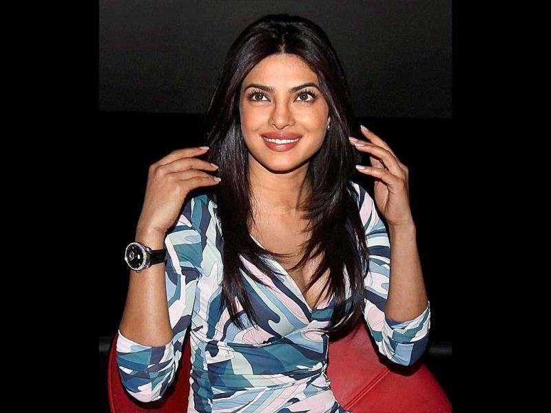 Bollywood actress Priyanka Chopra during the launch of trailer of her new film Agneepath. (PTI)