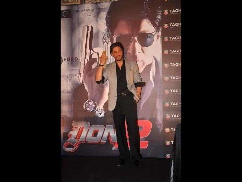 Shah Rukh has now been 'tagged' the title of Don.