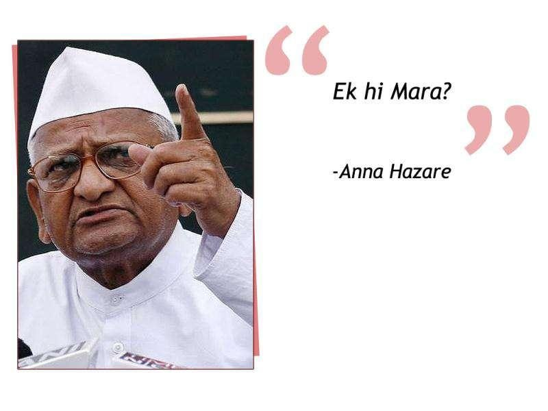 Anti corruption crusader Anna Hazare commented soon after Union agriculture minister Sharad Pawar was slapped at a community centre in New Delhi.