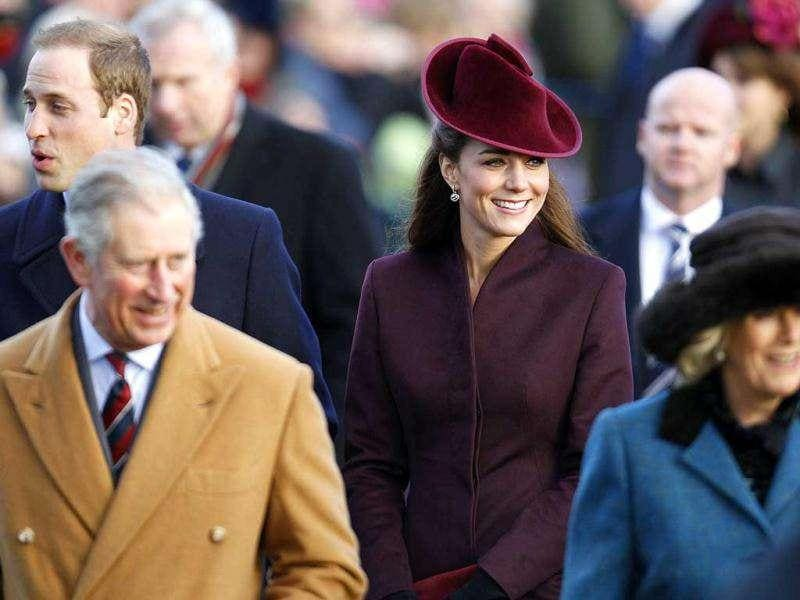 Kate teamed up a hat by milliner Jane Corbett, who regularly creates pieces for the Middleton family.