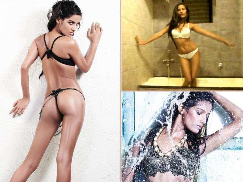 Poonam Pandey, desperate sex symbol: A Kingfisher model, she is trying hardselling the fact that she can err...shed clothes. Though nobody has offered her anything substantial, the actor has launched her own website to post sleazy videos.