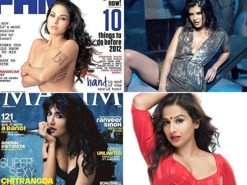 A new crop of ladies has raised the bar of 'sexy' in Bollywood. Be it Jacqueline's comfort with sexuality, Vidya's in-your-face sex appeal or Chitrangda's art house dose of sensuality - here's raising a toast to 10 bold personas from the year that was.