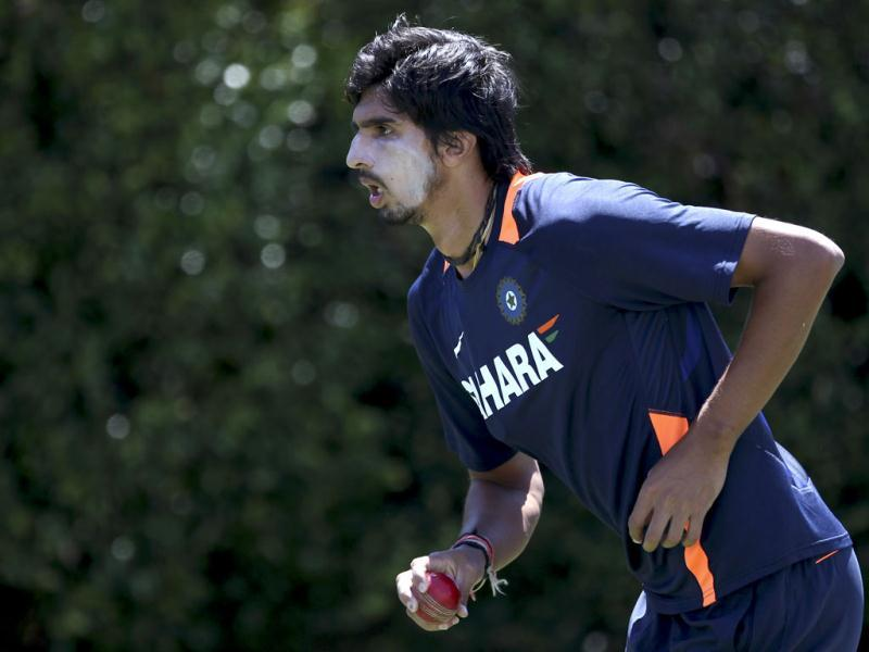 Ishant Sharma is seen during a training in Sydney, Australia. AP Photo/Rob Griffith