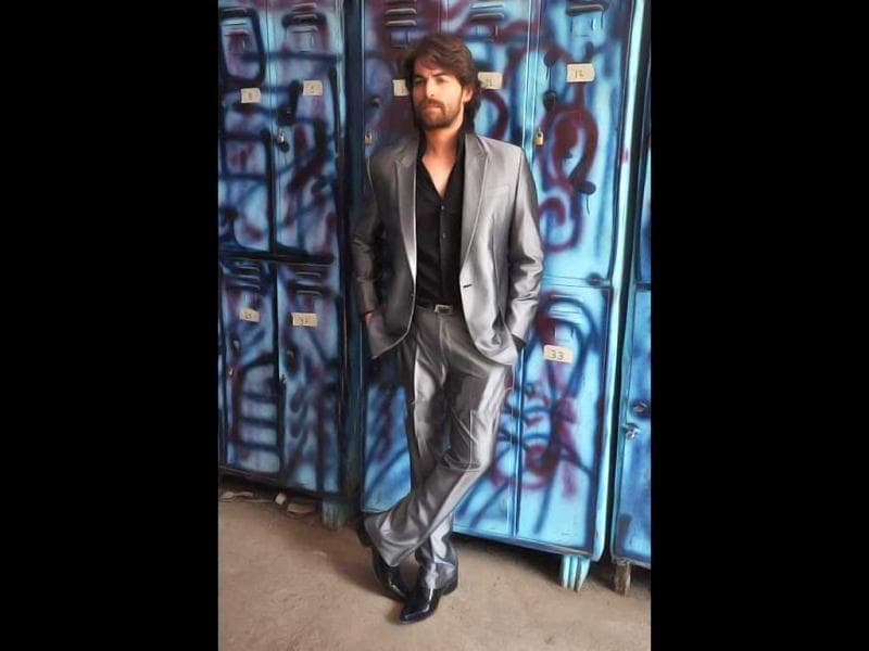 Neil Nitin Mukesh strikes a pose in style.