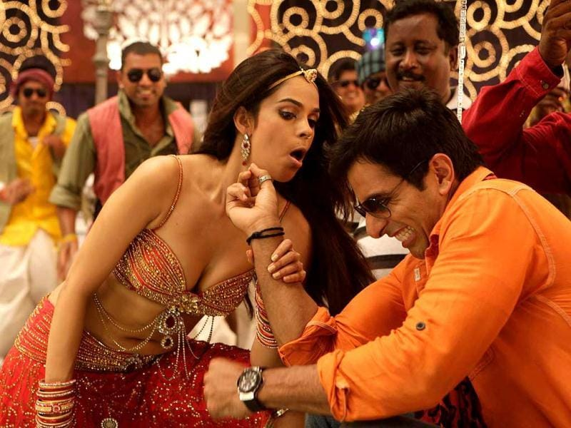 Director Dharani wanted to make the item number the highlight of the film.