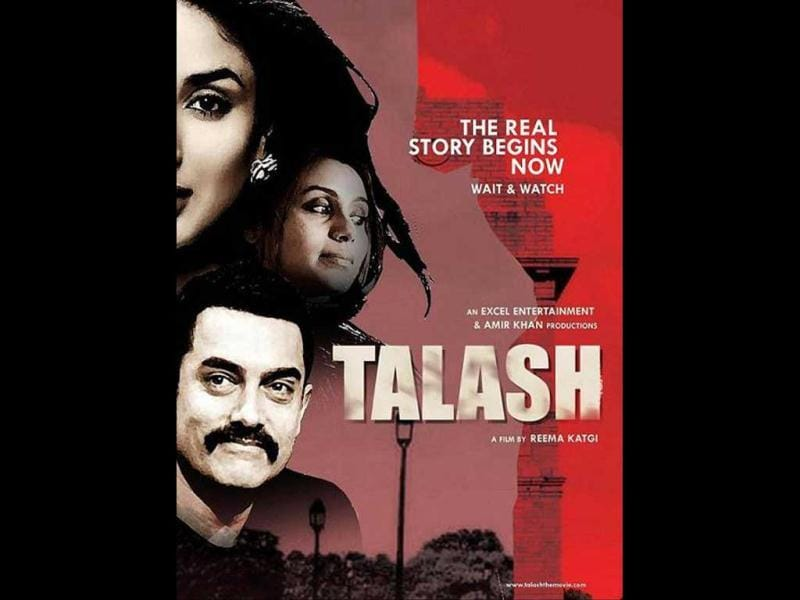 Directed by Reema Kagti, Aamir Khan will next appear in Talaash, a thriller.