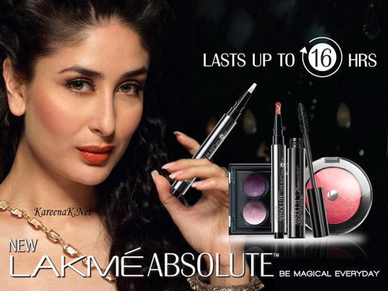 Kareena Kapoor looks haute in orange make-up.