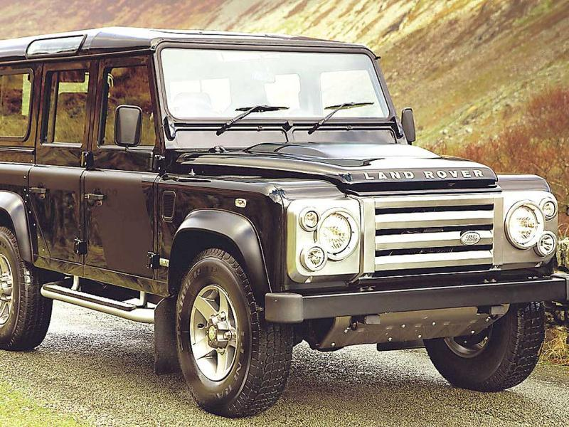 Land Rover Defender: Tatas' Land Rover is offering a new Defender in 2012 — cleaner, smaller and leaner. The new 2.2 litre diesel engine replaces the 2.4-litre diesel engine, promising greater performance.