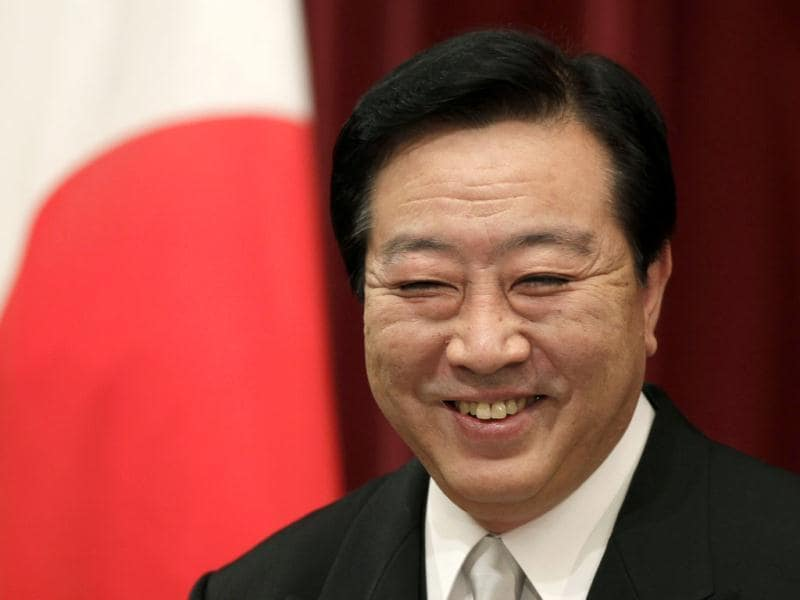 Japanese Prime Minister Yoshihiko Noda smiles during his first news conference of the year at his official residence in Tokyo. AP Photo/Shizuo Kambayashi