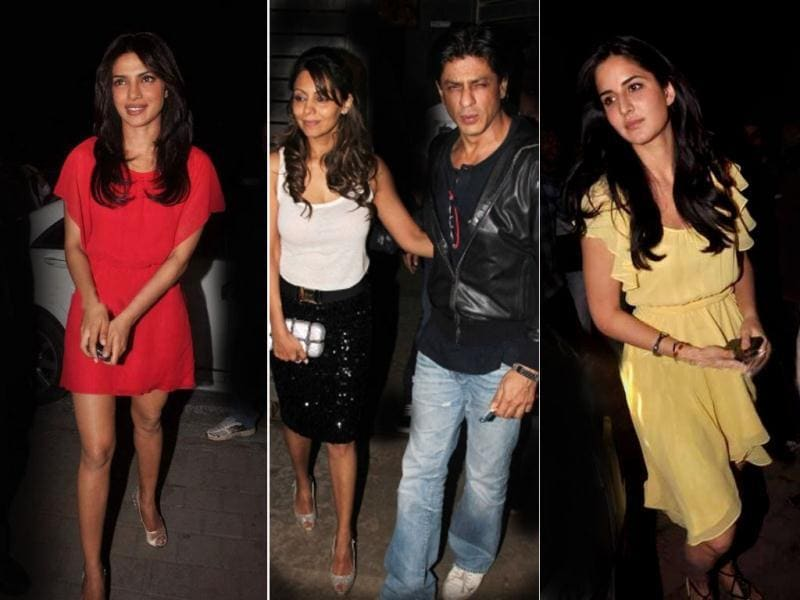 Farhan Akhtar who's basking in the success of Don 2 turned a year older today. His birthday bash saw a host of Bollywood celebrities and friends. Check out the pics.