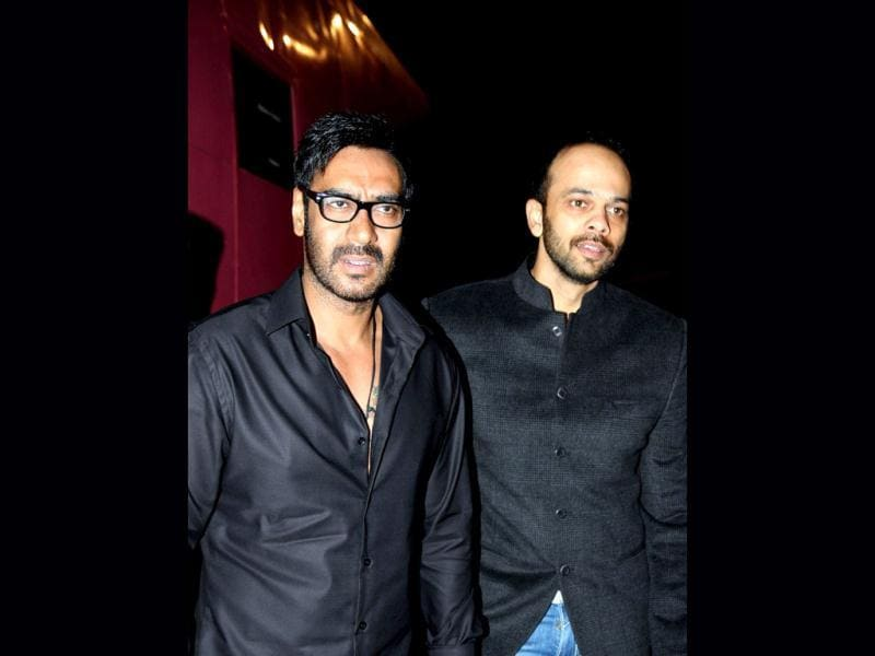 What's Golmaal?: Ajay Devgn and Rohit Shetty.