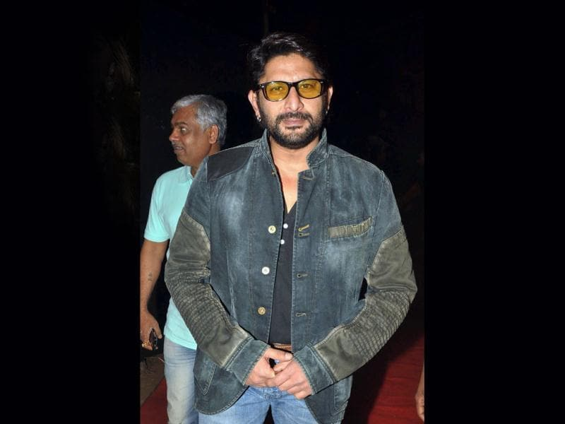 Circuit is back: Arshad Warsi looks serious.