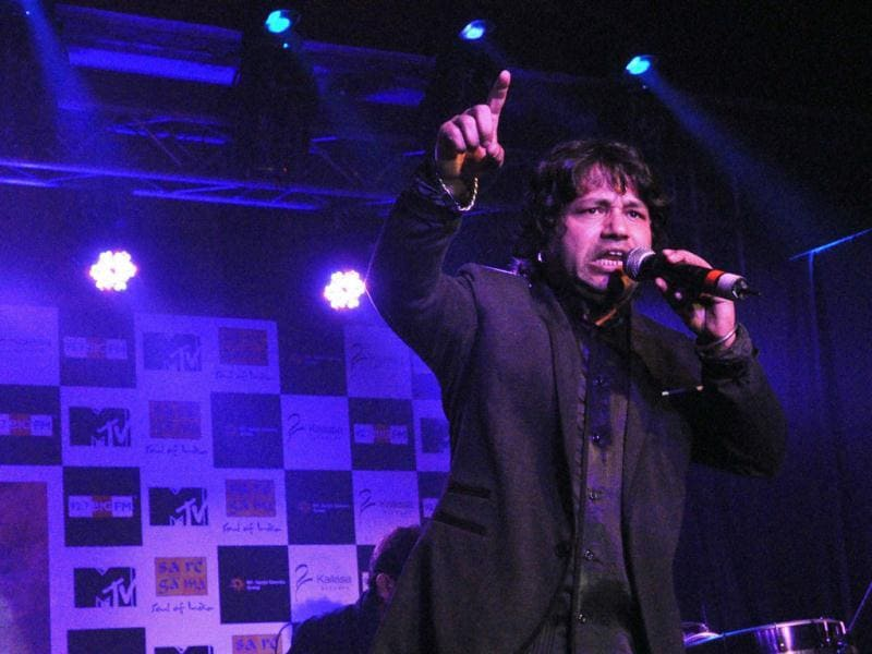 Kailash Kher's music is genre in itself.