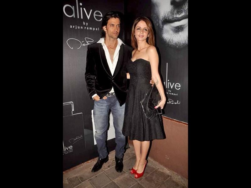 Hrithik Roshan and Sussanne look picture perfect.