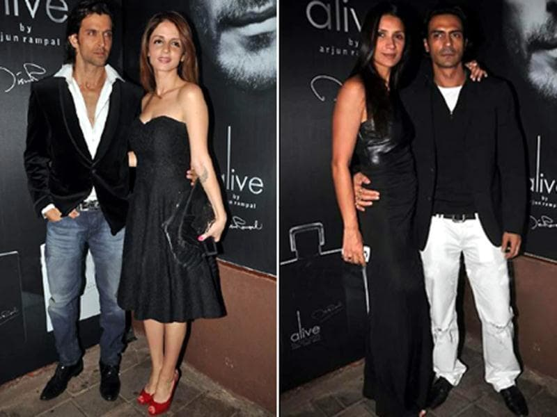 After Big B, SRK and Shilpa, Arjun Rampal also has his own perfume brand. He unveiled his fragrance label recently at Aurus in Juhu. A host of celebrities and friends were present to cheer him up.