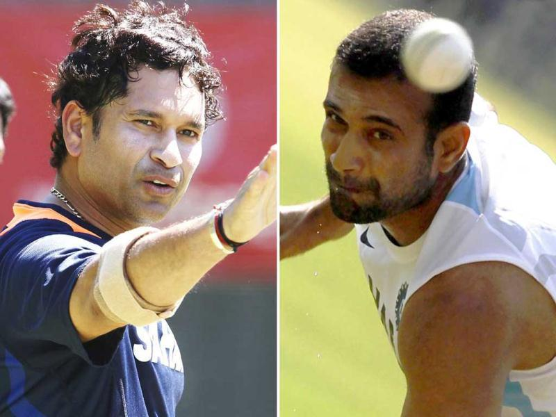 Sachin Tendulkar, Irfan Pathan included in ODI squad for Tri-series in Australia.