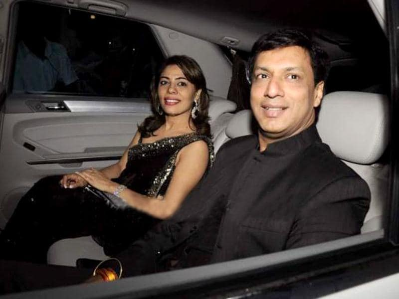 Madhur Bhandarkar also came to welcome Oprah.