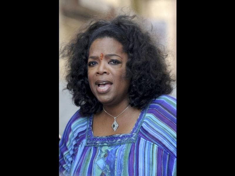 Buzz is that Oprah also gifted a car to one of the slum-dwellers she met.