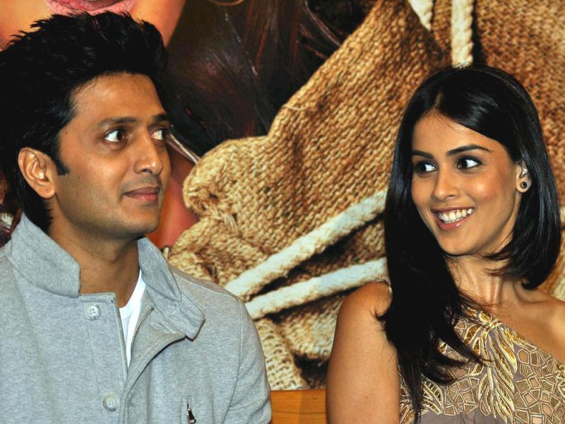 Riteish and Genelia did their first movie Tujhe Meri Kasam together.