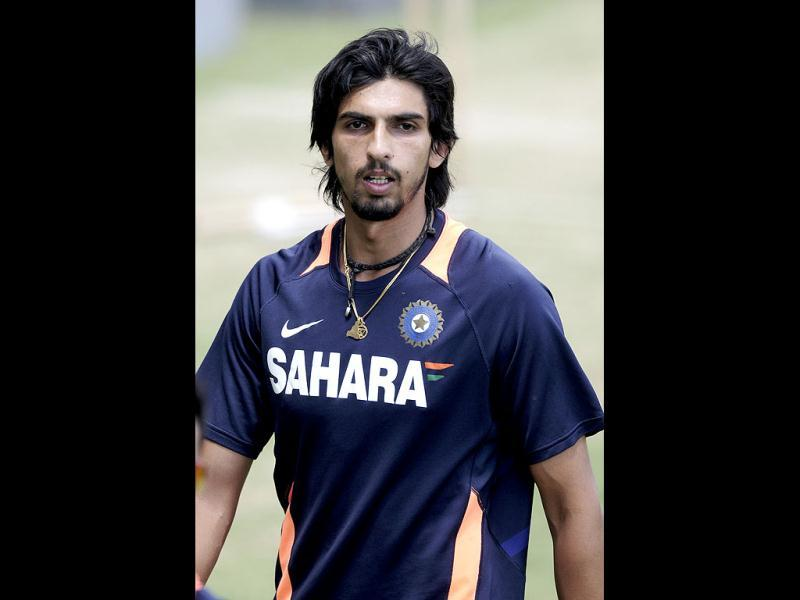 Ishant Sharma prepares for training at the nets before the opening day of cricket against Australia in Adelaide, Australia. -AP Photo/David Mariuz
