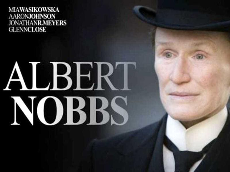Albert Nobbs sees Glenn Close (nominated Best Actor) play a woman passing as a man in order to work and survive in 19th century Ireland. Some thirty years after donning men's clothing, she finds herself trapped in a prison of her own making.