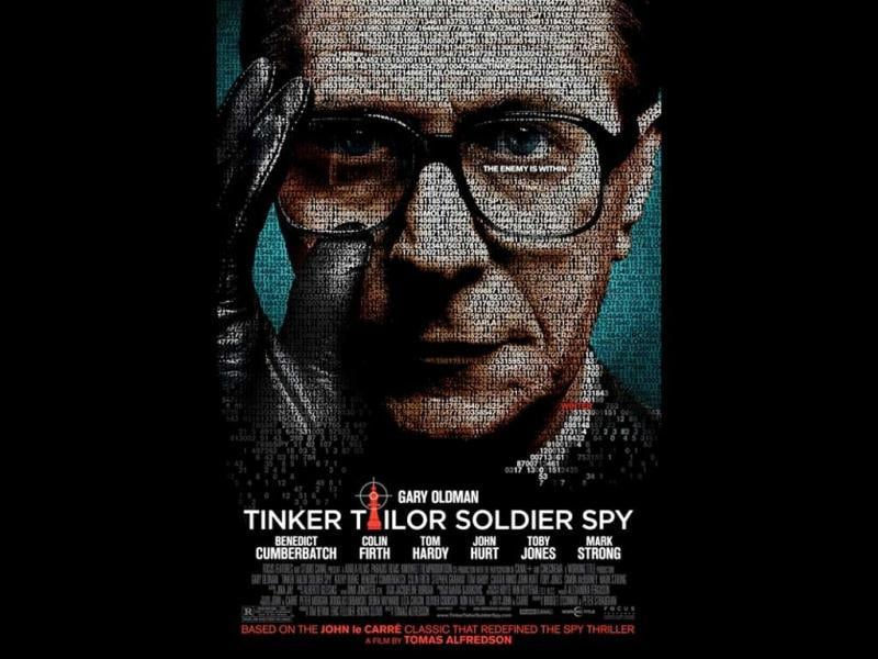 Best Actor nominated Tinker Tailor Soldier Spy is based on the bleak days of the Cold War, when an espionage veteran George Smiley (Gary Oldman) is forced from semi-retirement to uncover a Soviet agent within MI6's echelons.