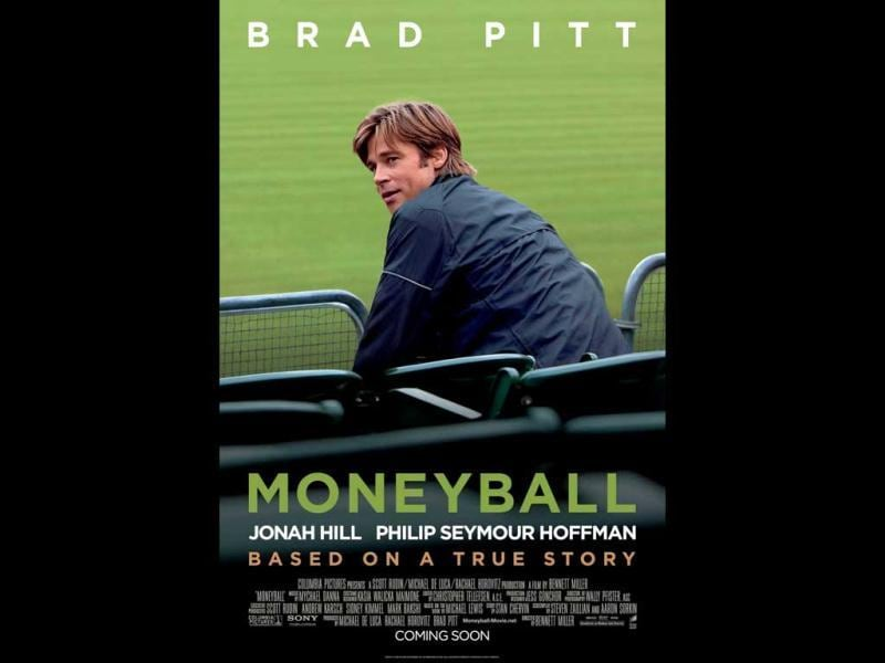 Moneyball received six Academy Award nominations, including four biggies: Best Picture, Best Actor, Best Supporting Actor, Adapted screenplay. The story is about a general manager Billy Beane's (Brad Pitt) attempt to put together a baseball club on a budget by employing computer-generated analysis to draft his players.