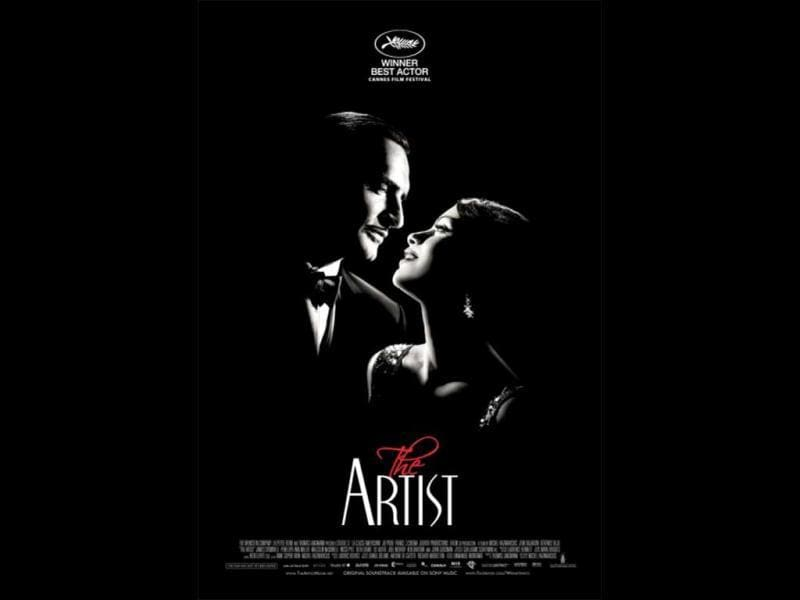 Silent film The Artist won 10 nominations including Best Picture, Best Actor, Best Director, Best Original Screenplay, Best Supporting Actress among others. The film is about silent movie star George Valentin (Jean Dujardin) who wonders if the arrival of talking pictures will cause him to fade into oblivion.