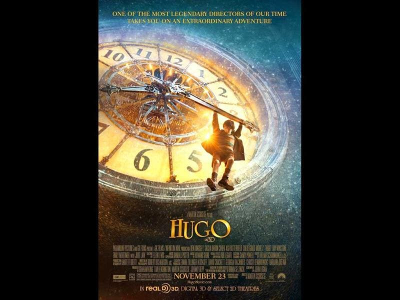 Martin Scorsese's lavish 3D adventure Hugo won 11 Oscar nominations including Best Picture, Best Director, Best Adapted Screenplay. The film is a visually rich tale set in 1930s Paris, about an orphan who lives in the walls of a train station and is obsessed with clock-making and early film pioneer Georges Melies.
