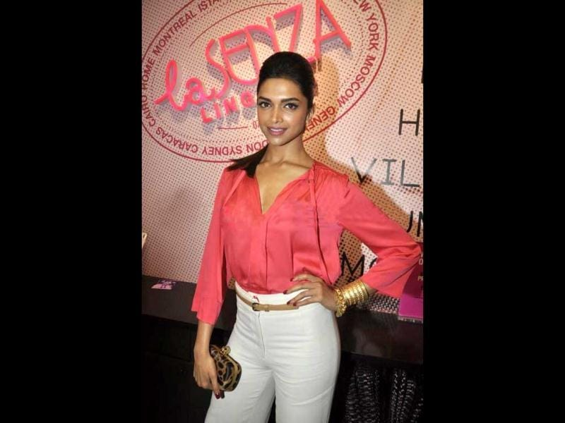 Deepika Padukone looks extremely stylish as she was seen in a recent La Senza store launch. And as always, the actor gets her style bang on!