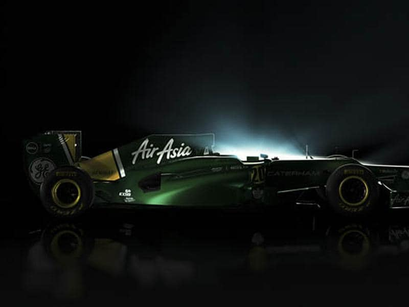 Picture of Caterham-Renault CT01 posted by Caterham on Twitter.
