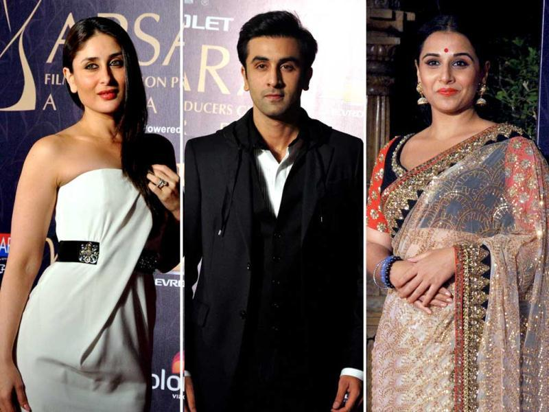 As Vidya Balan and Ranbir Kapoor bagged the top honours at the 7th Apsara awards, here's a look at B-Town's whose who that was present at the ceremony in Mumbai.