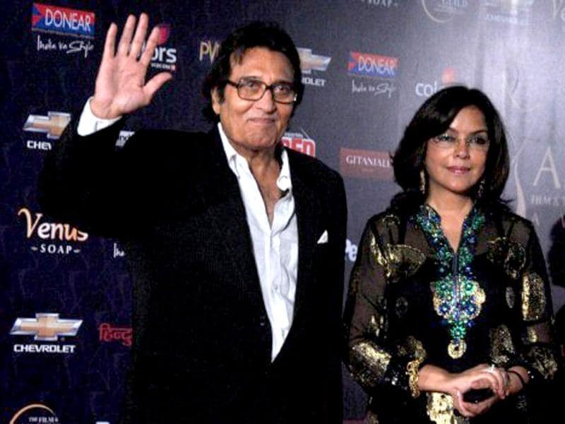 Vinod Khanna and Zeenat Aman, too, were among those present.